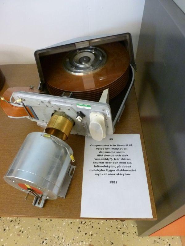 8470-disk HDA (head disk assembly) och magneten till voicecoil mera text, hur blir det