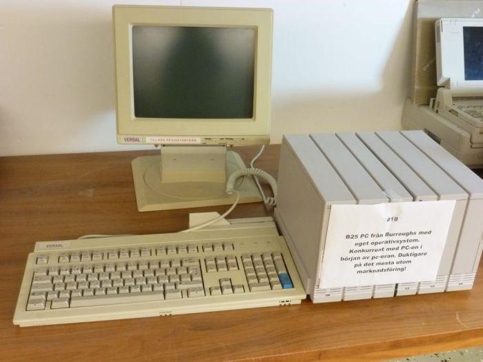 B25-PC med Versalskärm