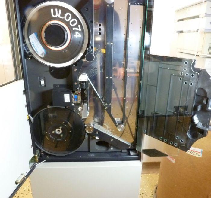 Bandstation U36 II med bägge spolarna synliga