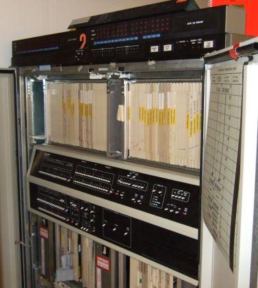 DCP40 på insidan med felsökningspanel