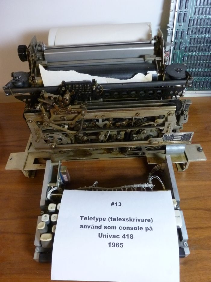 Teletype-consle
