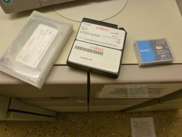 Några kassettband av olika ålder