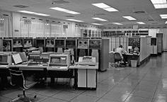 Datahallen i Skärholmen.