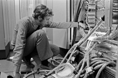 Jan-Erik kopplar i processorn