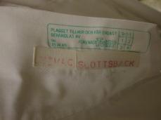 Operatörsrocken etikett, från Atesto!